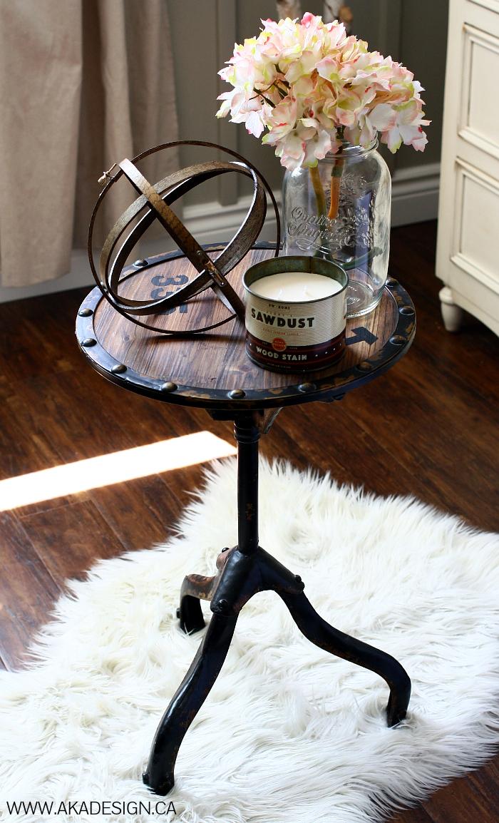 Budget DIY- Embroidery Hoop Orbs easy cheap decor designer industrial look1