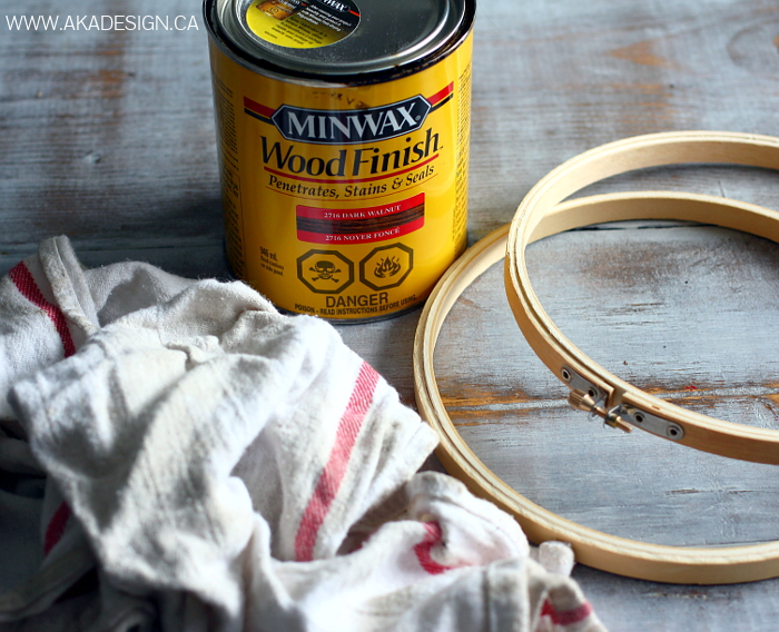 Budget DIY- Embroidery Hoop Orbs easy cheap decor designer industrial look2