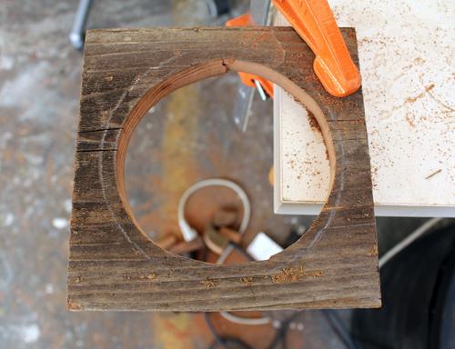 DIY- Tiered Hanging Pots scrap wood rope paint woodworking tools easy quick simple diy plants watering6