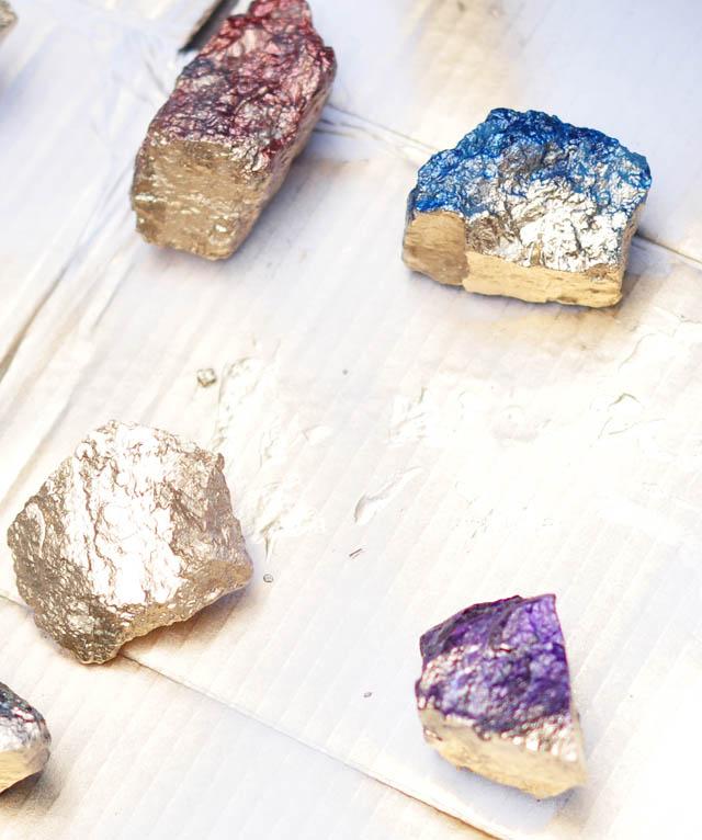 DIY- Make These Faux Crystals Using Nail Polish!7