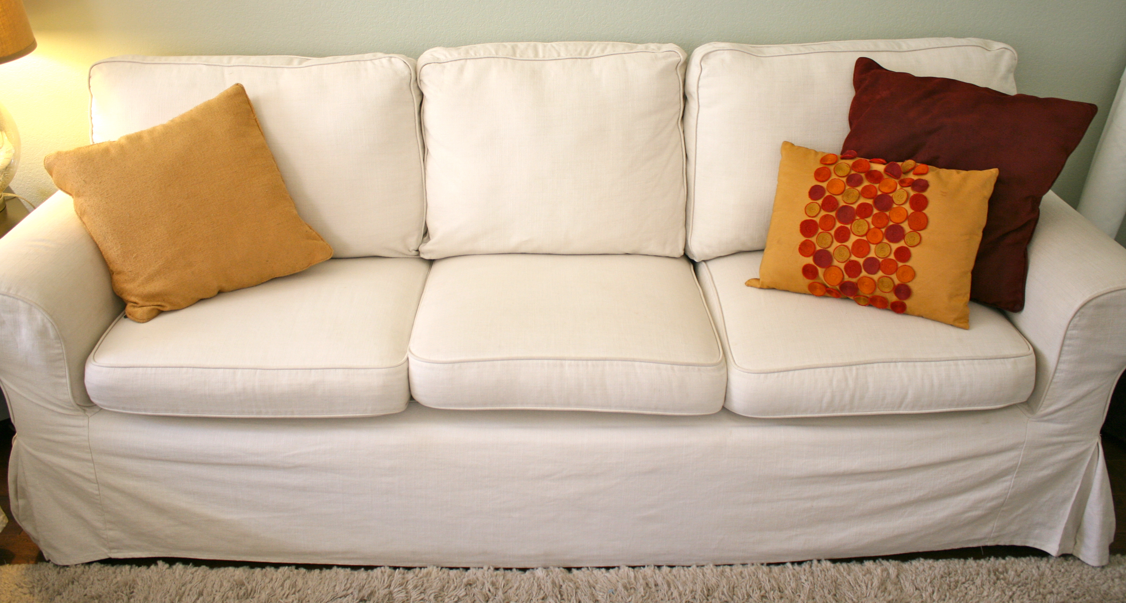 Here's How to Make Your Sagging Couch Cushions Look Plump Again!1