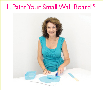 1 small wall paint sample boards no more paint chips how to test new all colors better housekeeper blog as seen on tv reusable