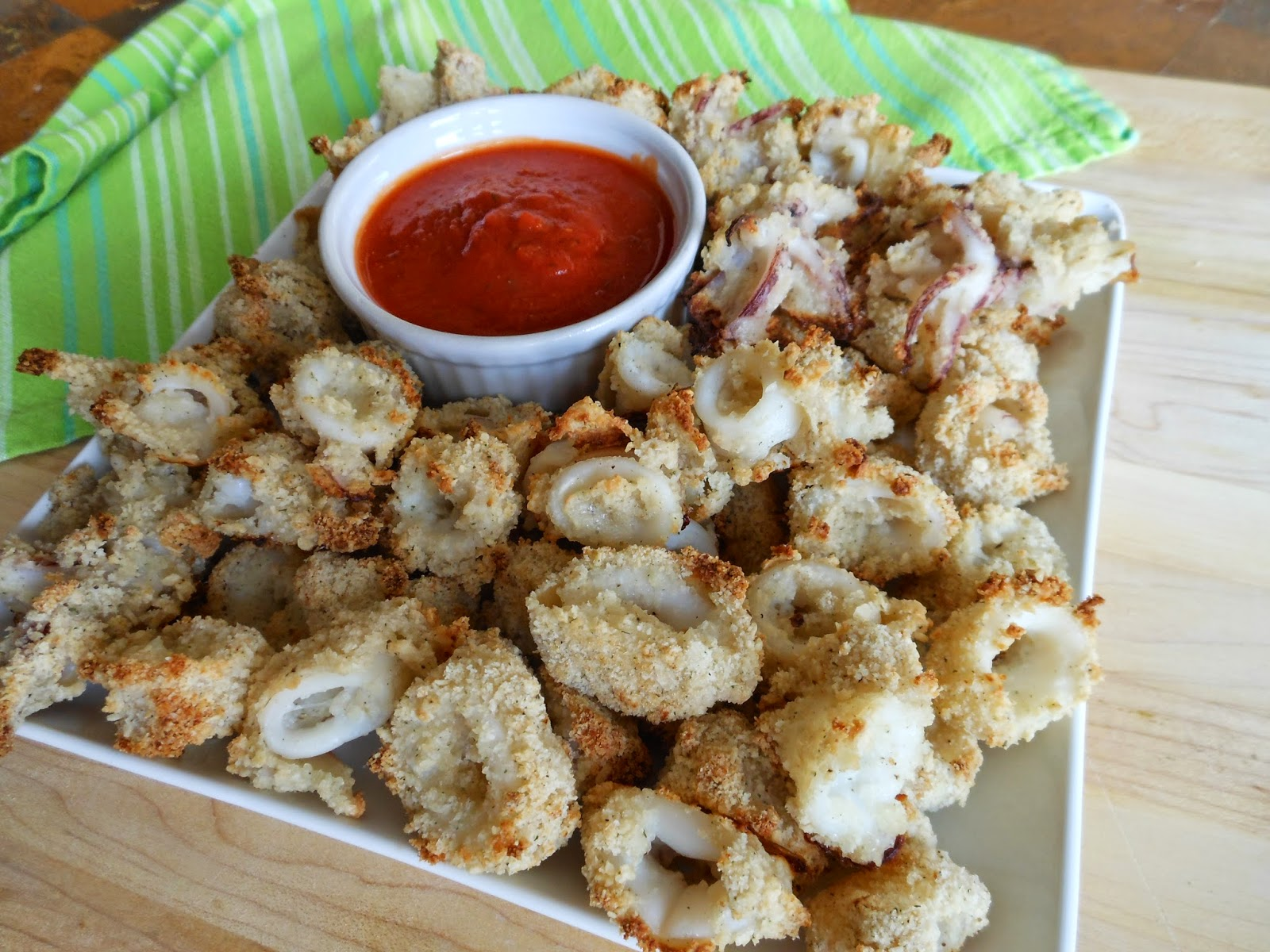 Healthy Eating: Crispy Oven-Fried Calamari1