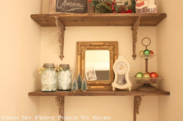 Shabby Chic DIY: Make Your Brand New Iron Brackets Old and Rusty74