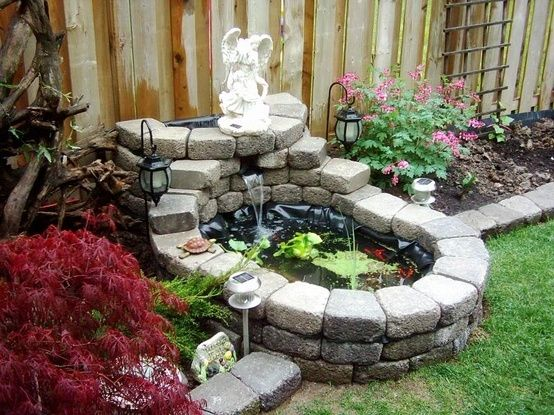 5 Easy DIY Projects Moms Can Do to Spurce Up Their Front ... on Small Pond Landscaping Ideas id=47680