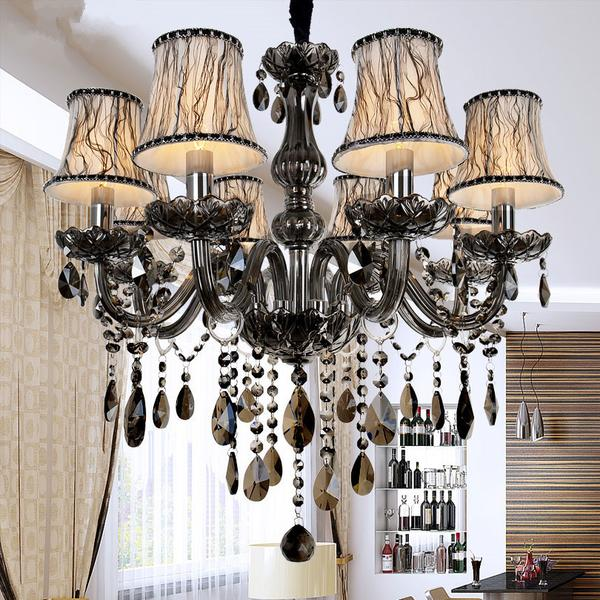 This gorgeous Eleganzo collection chandelier looks striking and would make the perfect fit in the dining room.