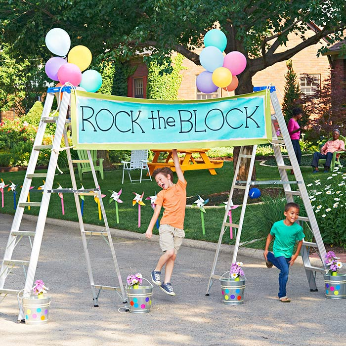 neighbourhood block party community street ideas how to organize