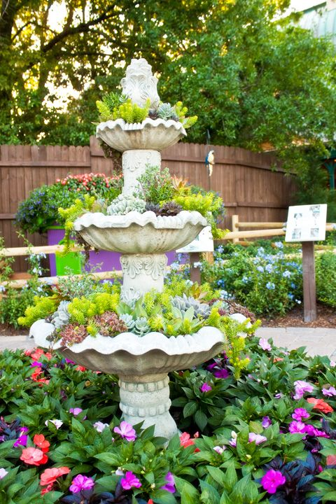 outdoor yard water fountain