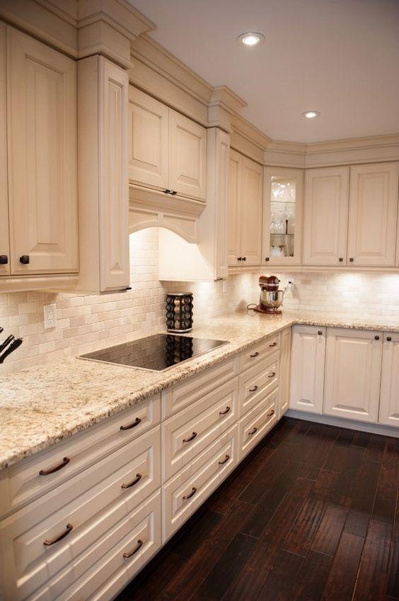 beautiful wood flooring in kitchen decorating ideas
