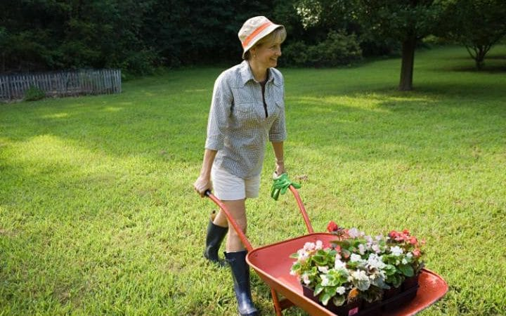 how to avoid gardening back pain