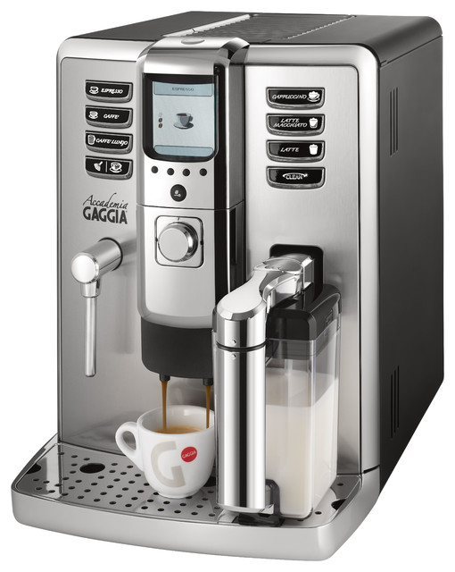 modern espresso machine how to operate