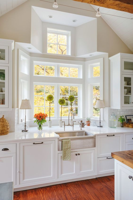 how to clean kitchen windows