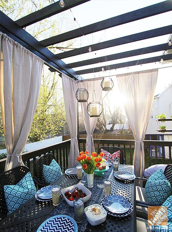 pretty patio decor ideas home depot