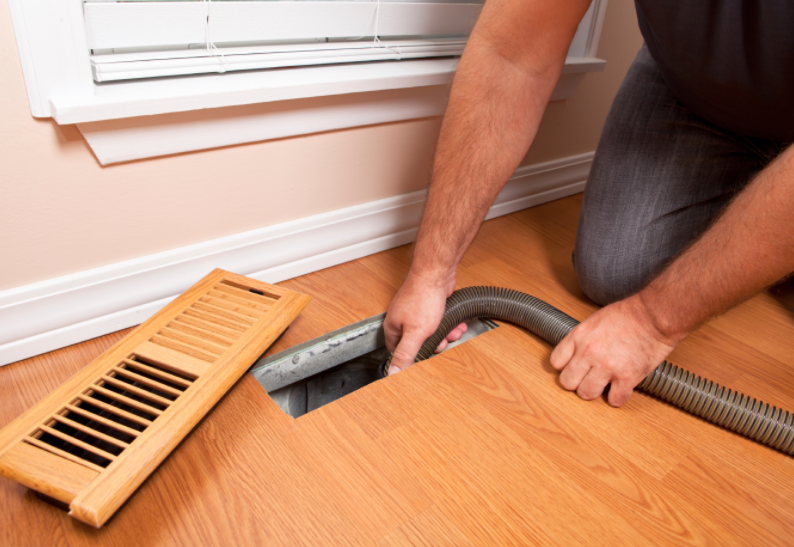 hvac system cleaning air ducts