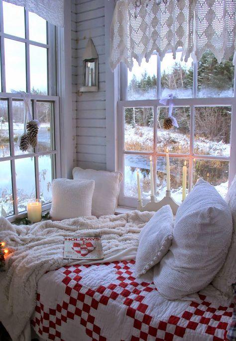 cozy bedroom winter nook ideas