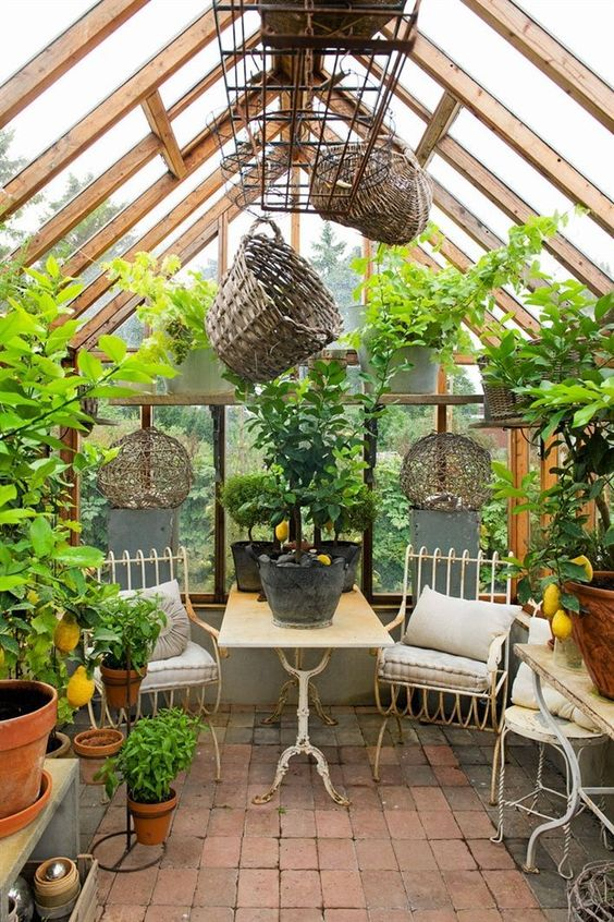 cozy greenhouse decor luxury ideas
