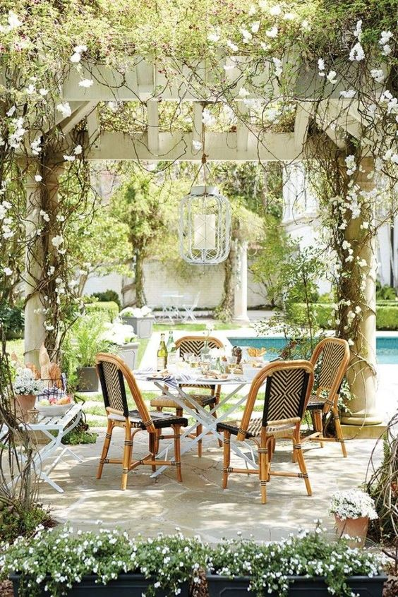 beautiful tuscan french patio ideas