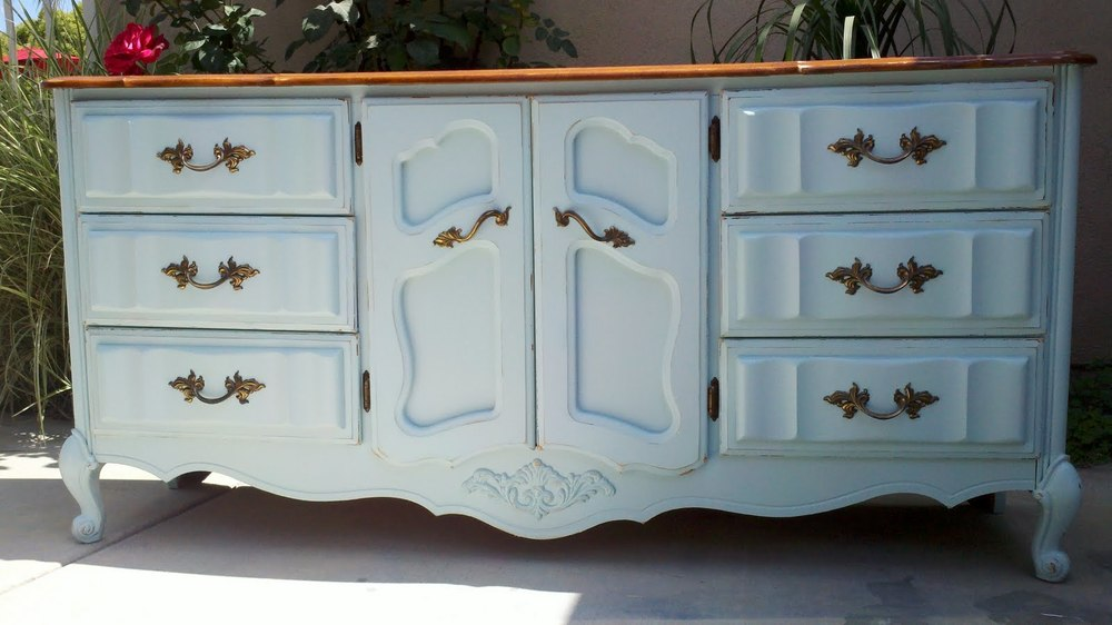 How To Turn Old Furniture Shabby Chic