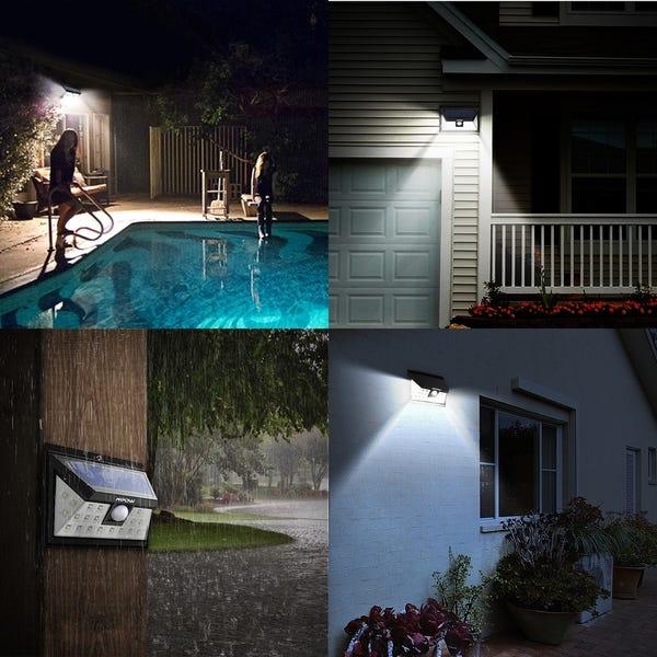 solar ground spotlights