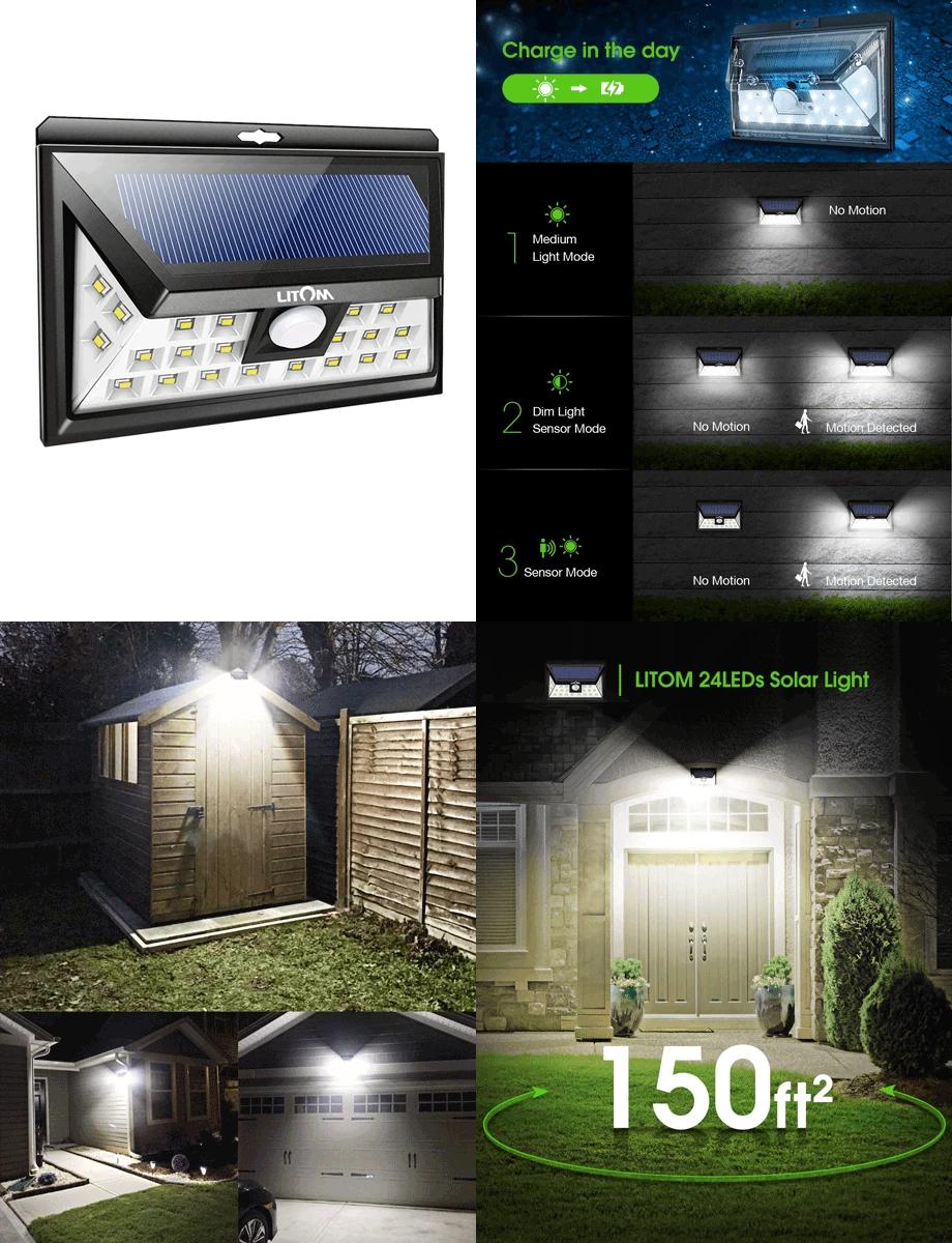 Spotlight On Litom The Best Outdoor Solar Lights For Your Home Better Housekeeper